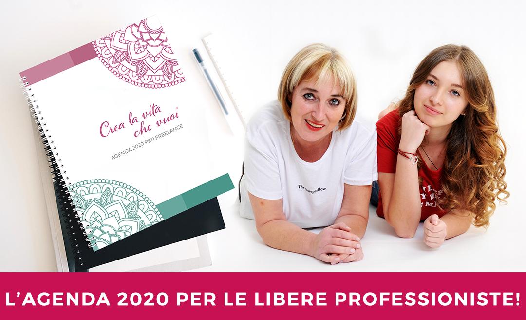 """""""Crea la vita che vuoi"""": l'agenda 2020 per freelance"""