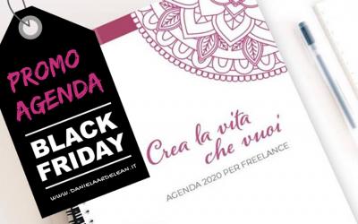 Black Friday: sconti speciali per l'acquisto dell'Agenda 2020 e dei prodotti SwissCare